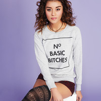 N° Basic Bitches Tee   Wet Seal