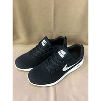 NIKE AIR ZOOM 2018 new sports shoes breathable Joker casual flying shoes black