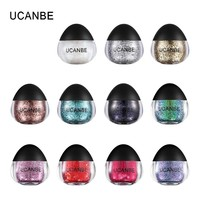 UCANBE Glitter Eyeshadow Makeup Glitter Paste Diamond Gel Eye Shadow Gel for Face/Eye/Highlighter/Body/Hair