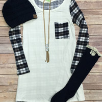 Passion for Plaid: Ivory