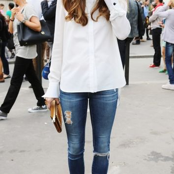XVII — speaking-vogue: never-too-real: Olivia Palermo...