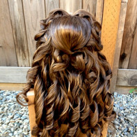 Belle Beauty & the Beast Lace Front Pro Princess Wig Screen Quality Custom Couture Styled