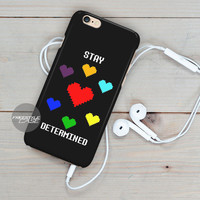 Undertale Stay Determined   Blackberry Case Z10, Q10, Dakota Cover