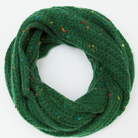 Tooty Knit Infinity Scarf - Green
