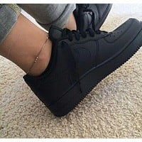 LV Louis Vuitton x NIKE Air force 1 AF1 hot sale men and women low top basketball shoes sneakers-4