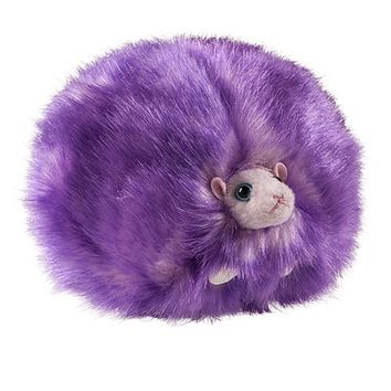 Universal Studios Harry Potter Purple Pygmy Puff Plush with Sound New with Tags