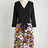 Long 3 A-line Layover and Out Dress by ModCloth
