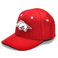 Licensed Arkansas Razorbacks Official NCAA Infant One Fit Hat Cap Hogs Top Of The World KO_19_1