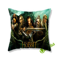 The Hobbit Square Pillow Cover