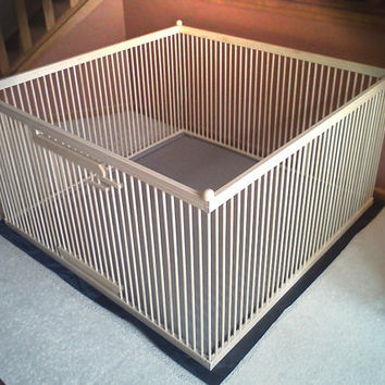"""A Distinctive """"Home within a Home"""" Exercise Pen - READY-to-FINISH Solid MAPLE w/Floor"""