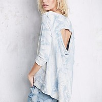 Free People Womens Cloudy Wash Pullover