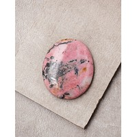 Rhodonite Healing Palm Stone
