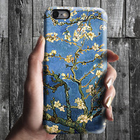 Almond Tree Flowers - Van Gogh iPhone Case 6, 6S, 6 Plus, 4S, 5S. Mobile Phone. Art Painting. Gift Idea. Anniversary. Gift for him and her