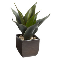 Artificial Agave in Pot