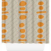 Connect The Dots Shower Curtain