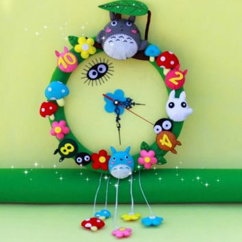 My Neighbor Totoro Wall Clock [DIY Kit OR Finished Product]