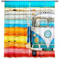 Window Curtains Lined from DiaNoche Designs Artistic, Stylish, Unique, Decorative, Fun, Funky, Cool by Danny Phillips Playing Hooky