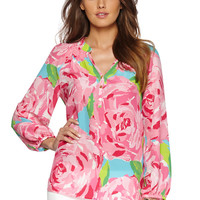 Elsa Top - Hotty Pink First Impression - Lilly Pulitzer