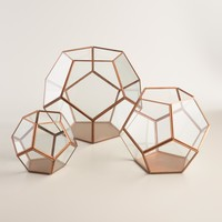 Copper Geo Terrarium