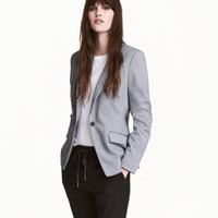 Single-button Jersey Blazer - from H&M