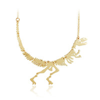 New Dinosaur Necklace Fossil Pendant Jewelry