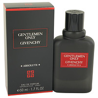 Gentlemen Only Absolute by Givenchy Eau De Parfum Spray 1.7 oz for Men