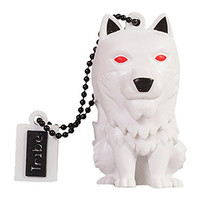 Tribe Games of Thrones Pendrive Figure 16 GB Funny USB Flash Drive 2.0, Keyholder Key Ring, Ghost (FD032502)