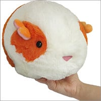 Mini Squishable Guinea Pig: An Adorable Fuzzy Plush to Snurfle and Squeeze!