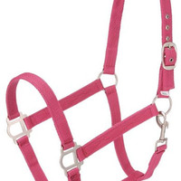 Saddles Tack Horse Supplies - ChickSaddlery.com Tough-1 Nylon Halter With Satin Hardware