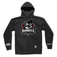 Bandits Sport Logo - Men's Knit Hooded Pullover