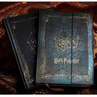 New Harry Potter Vintage Notebook Diary Book Hard Cover Note Book Notepad Agenda Planner Gift 2016-2017-2018 calendar