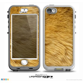 The Golden Furry Animal Skin for the iPhone 5-5s NUUD LifeProof Case for the LifeProof Skin