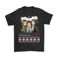 PEAP3CR Team Free Will Wishing You A Very Supernatural Christmas Shirts