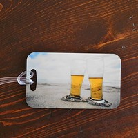 Going to the Beach Luggage Tags - Beers for Two