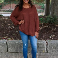Falling for Autumn Sweater - Copper