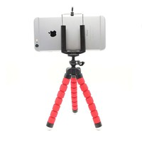Smartphone Holder Flexible Octopus Leg Tripod Bracket Selfie Stand Mount Monopod Adjustable Accessories For All Phone GZJ18