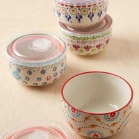 Ceramic Food Storage Bowls Set