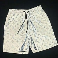 LV 2019 new luminous leisure beach five points shorts