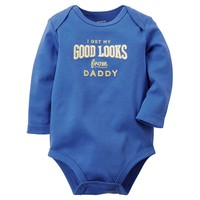 Carter's ''Good Looks'' Bodysuit - Baby Boy, Size: