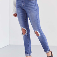 Levi's 721 High-Rise Skinny Jean – Rugged Indigo | Urban Outfitters
