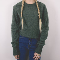 Vintage Wool Minimalist Sweater