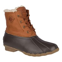 Women's Saltwater Winter Luxe Duck Boot by Sperry