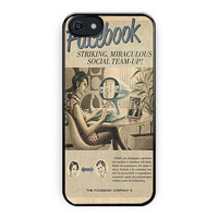 Vintage Facebook Advertisement iPhone 5/5S Case