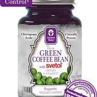 NEW!!! 100% Pure Green Coffee Bean Extract with SVETOL - 60 Vegetarian Capsules (1 Bottle) | deviazon.com