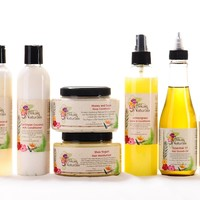 Mini Hair Collection 8oz (7 Items) - KITS AND COLLECTIONS - HAIR - Alikay Naturals Products - Store