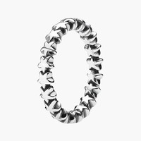 Women's PANDORA 'Star Trail' Band Ring - Silver Carded