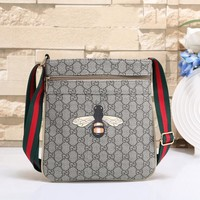 Gucci Women Fashion Leather Satchel Bag Shoulder Bag Handbag Crossbody