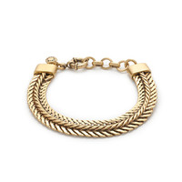 J.Crew Womens Double-Chain Bracelet