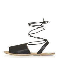 HOLLY Ankle-Tie Sandals - New In