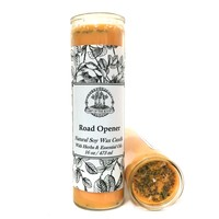 Road Opener 7 Day Soy Spell Candle for Wiccan, Pagan & Hoodoo Rituals